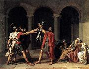 Jacques-Louis David Oath of the Horatii oil painting reproduction