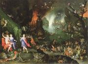 Jan Brueghel The Elder orpheus in the underworld oil painting picture wholesale
