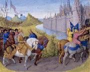 Jean Fouquet Arrival of the crusaders at Constantinople oil painting picture wholesale