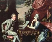 John Singleton Copley mr.and mrs.ralph lzard(alice delancey) oil painting picture wholesale