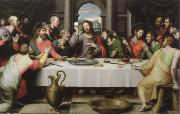 Juan de Juanes the last supper oil painting artist