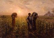 Jules Breton The End of the Working Day oil painting picture wholesale