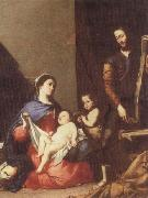 Jusepe de Ribera The Holy family oil painting picture wholesale