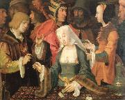 Lucas van Leyden the fortune teller oil painting picture wholesale