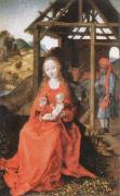 Martin Schongauer The Holy Family oil painting picture wholesale