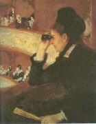 Mary Cassatt In the Loge oil painting picture wholesale