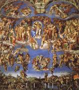 Michelangelo Buonarroti the last judgment oil painting picture wholesale