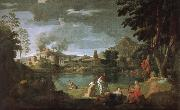 Nicolas Poussin Russian ears Phillips and Eurydice oil painting picture wholesale