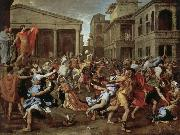 Nicolas Poussin Robbery sabine women oil painting picture wholesale