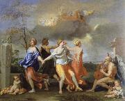 Nicolas Poussin a dance to the music of time oil painting picture wholesale