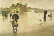 Norman Garstin The Rain it Raineth Every Day oil painting picture wholesale