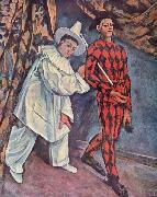 Paul Cezanne Fastnacht oil painting picture wholesale