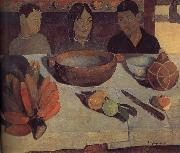 Paul Gauguin Meal oil painting picture wholesale