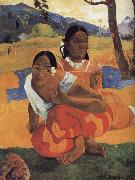 Paul Gauguin When you get married oil painting picture wholesale