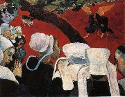 Paul Gauguin Jacob struggled with the Angels oil painting reproduction