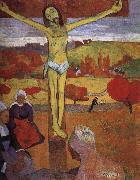 Paul Gauguin Yellow Christ oil painting reproduction