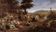Peter Paul Rubens Lord Paul Feast Festival oil painting picture wholesale