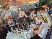 Pierre-Auguste Renoir luncheon of the boating party oil painting picture wholesale