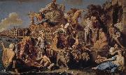 Pompeo Batoni Venice s victory oil painting picture wholesale