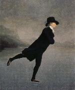 Sir Henry Raeburn the rev.robert walker skating on duddingston loch oil painting picture wholesale