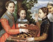 Sofonisba Anguissola the chess game oil painting picture wholesale