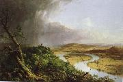 Thomas Cole Zigzag bend oil painting reproduction