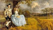 Thomas Gainsborough Gainsborough Mr and Mrs Andrews oil painting reproduction