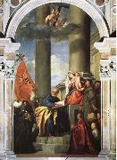 Titian Our Lady of the Pesaro family oil painting picture wholesale