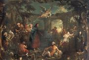 William Hogarth christ at the pool of bethesda oil painting picture wholesale