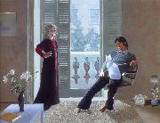david hockney mr and mrs clark and percy oil