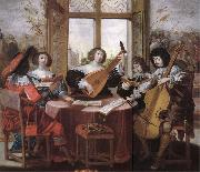 unknow artist the flowering of baroque music oil painting picture wholesale