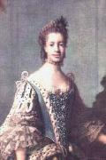 Allan Ramsay Queen Charlotte as painted by Allan Ramsay in 1762. oil painting picture wholesale