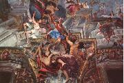 Andrea Pozzo The Apotheose of S. Ignazio oil painting
