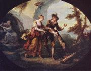 Angelica Kauffmann Miranda and Ferdinand in The Tempest oil painting picture wholesale