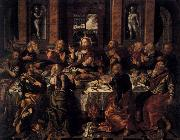 BERRUGUETE, Alonso Last Supper oil