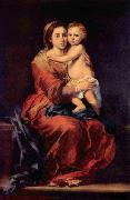 Bartolome Esteban Murillo Madonna with the Rosary oil painting picture wholesale