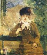 Berthe Morisot Dame a L ombrelle oil painting reproduction