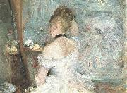 Berthe Morisot Lady at her Toilette oil painting picture wholesale