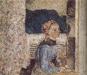 Camille Pissarro farm girl oil painting picture wholesale
