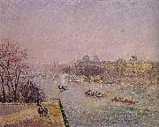 Camille Pissarro early in the Louvre oil painting reproduction