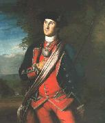 Charles Willson Peale George Washington in uniform, as colonel of the First Virginia Regiment oil