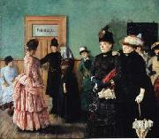 Christian Krohg Albertine i politilagens ventevarelse oil painting picture wholesale