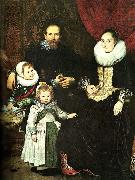 Cornelis de Vos the painter and his family oil painting artist