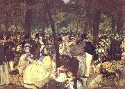 Edouard Manet Music in the Tuileries oil painting picture wholesale