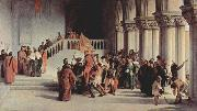 Francesco Hayez Release of Vittor Pisani from the dungeon oil painting picture wholesale