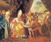 Franciszek Smuglewicz Scythians meeting with Darius oil painting picture wholesale