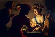 Gerard van Honthorst The Matchmaker by Gerrit van Honthorst oil painting picture wholesale