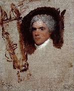 Gilbert Stuart John Bill Ricketts, also identified as, Breschard, the Circus Rider oil painting artist