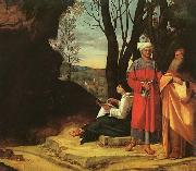 Giorgione The Three Philosophers oil painting picture wholesale