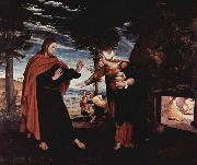 Hans holbein the younger Noli me tangere oil painting picture wholesale